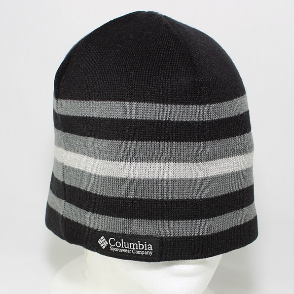 Columbia Other - Columbia Winter Hat Black Gray One Size Fit Unisex 9af3ba37306